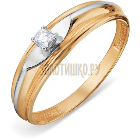 Кольцо с бриллиантом Т13101А226