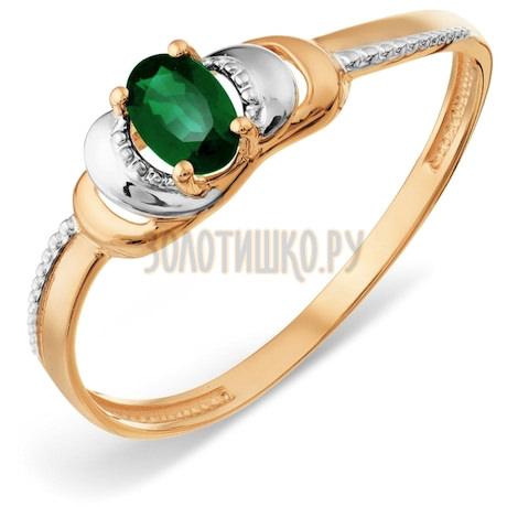 Кольцо с изумрудом Т14101А036