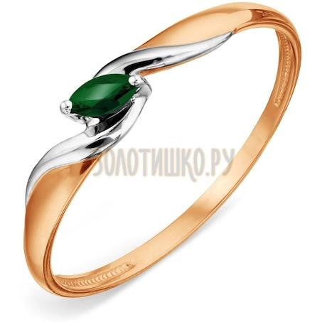 Кольцо с изумрудом Т14101А102
