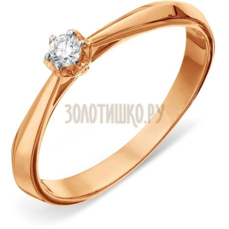 Кольцо с бриллиантом Т14101А151