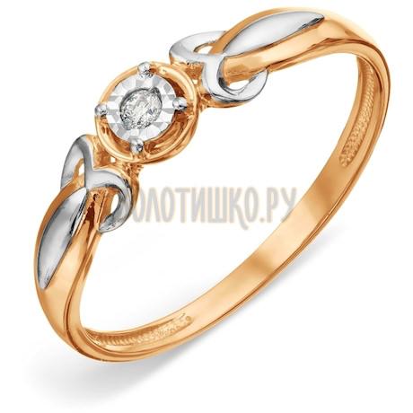 Кольцо с бриллиантом Т14561А029