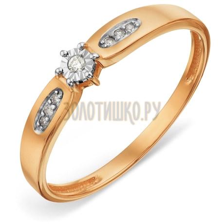 Кольцо с бриллиантами Т14661А007