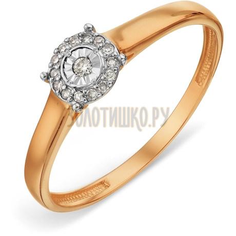 Кольцо с бриллиантами Т14661А008