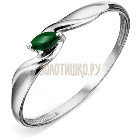 Кольцо с изумрудом Т30101А102_2