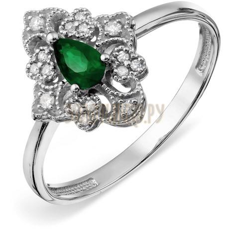 Кольцо с изумрудом и бриллиантами Т30101А121_2
