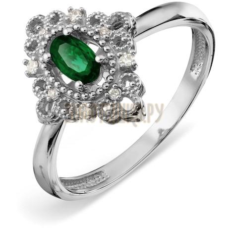 Кольцо с изумрудом и бриллиантами Т30101А123_3
