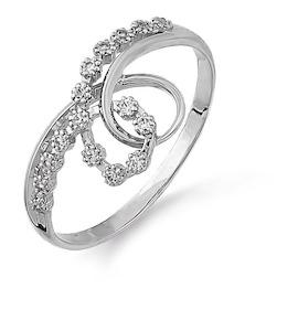 Кольцо с фианитами Т302013582-1