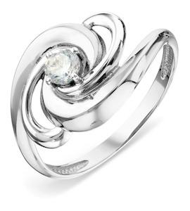 Кольцо с фианитом Т302018041