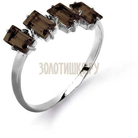 Кольцо с раухтопазами Т303015591_2