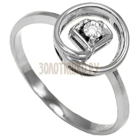 Кольцо с бриллиантом Т305611590