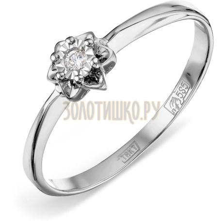 Кольцо с бриллиантом Т305611621