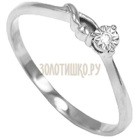 Кольцо с бриллиантом Т305611630