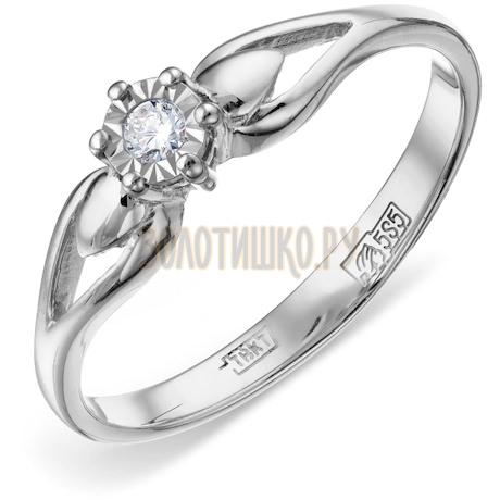 Кольцо с бриллиантом Т305611711