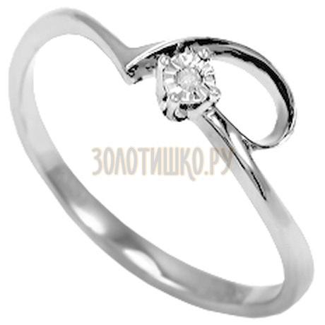 Кольцо с бриллиантом Т305611827