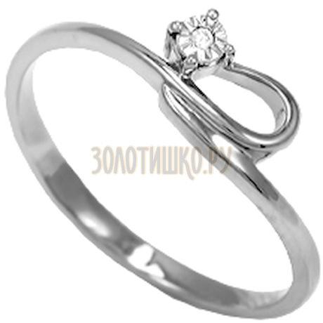 Кольцо с бриллиантом Т305611828