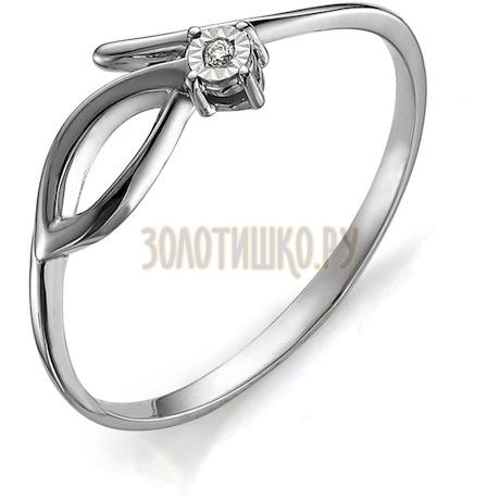 Кольцо с бриллиантом Т305613397