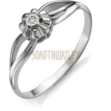 Кольцо с бриллиантом Т305613406