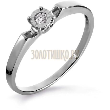 Кольцо с бриллиантом Т305616130