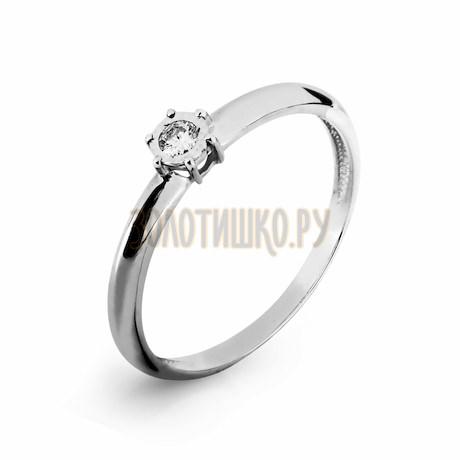 Кольцо с бриллиантом Т305616657