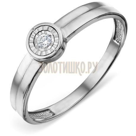 Кольцо с бриллиантом Т305618548