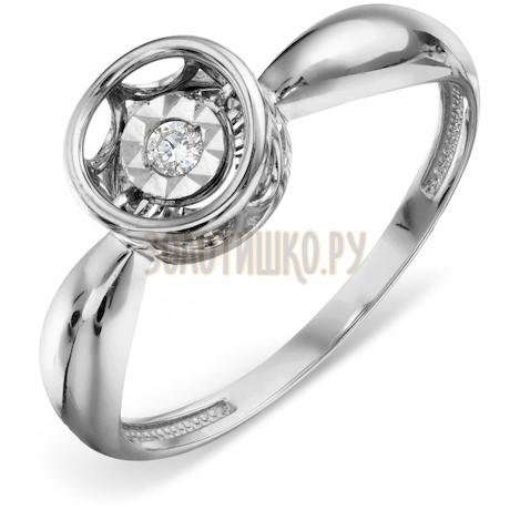 Кольцо с бриллиантом Т305618647