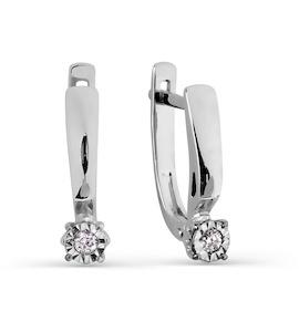 Серьги с бриллиантами Т305626334