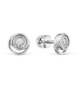 Серьги с бриллиантами Т305628826