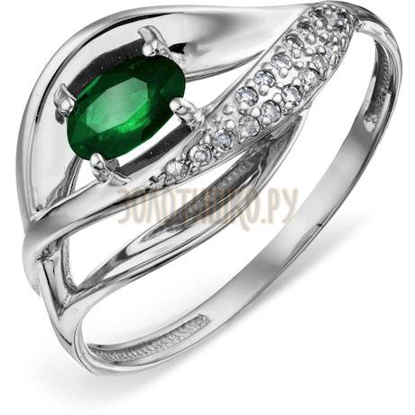 Кольцо с изумрудом и бриллиантами Т306018724_2
