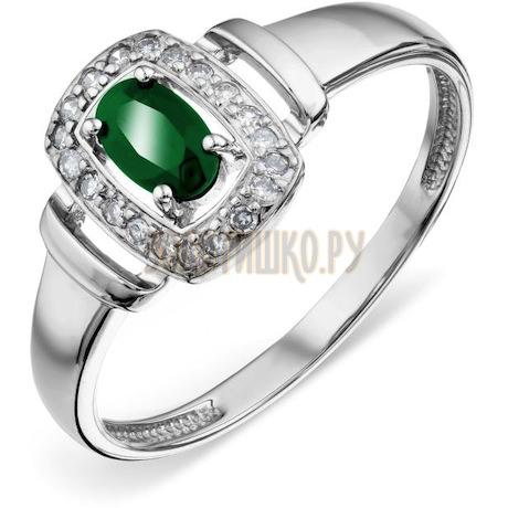 Кольцо с изумрудом и бриллиантами Т306018837_2