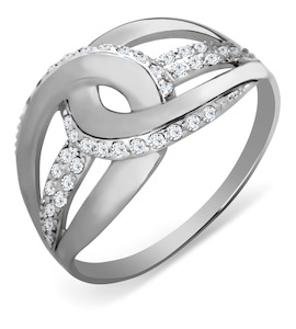 Кольцо с фианитами Т307017291