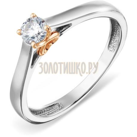 Кольцо с бриллиантом Т311017859
