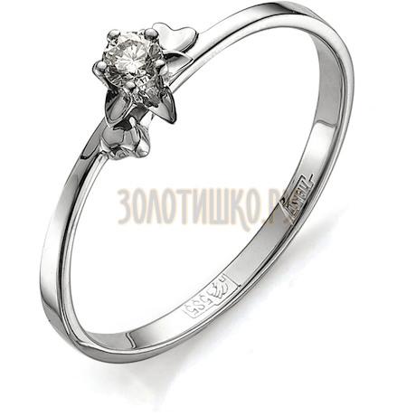 Кольцо с бриллиантом Т331011601