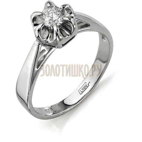 Кольцо с бриллиантом Т331011716
