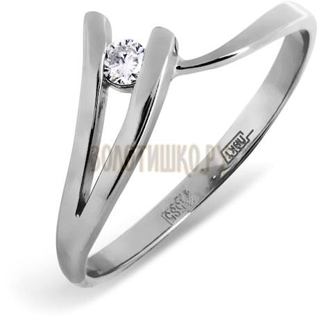 Кольцо с бриллиантом Т331011748