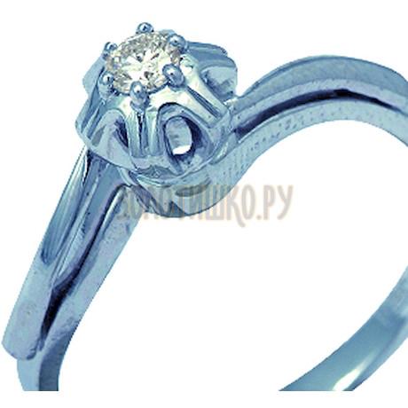 Кольцо с бриллиантом Т331011900