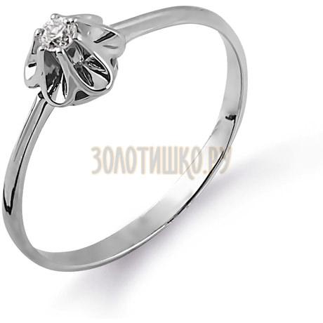 Кольцо с бриллиантом Т331014361