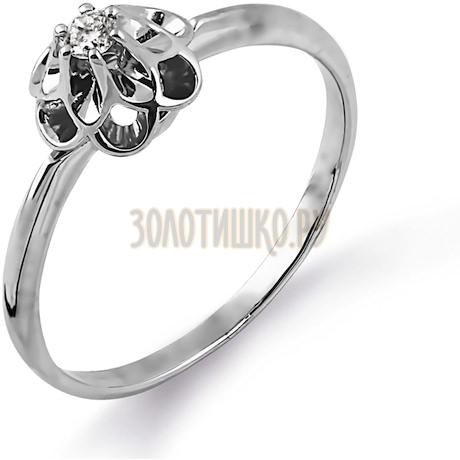 Кольцо с бриллиантом Т331014364