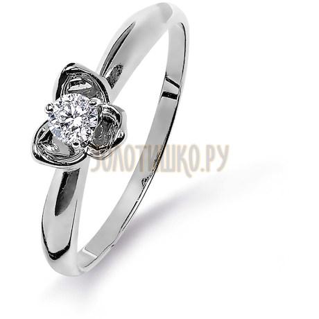 Кольцо с бриллиантом Т331015317
