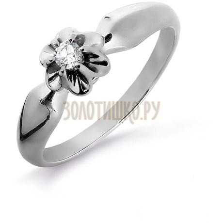 Кольцо с бриллиантом Т331016181