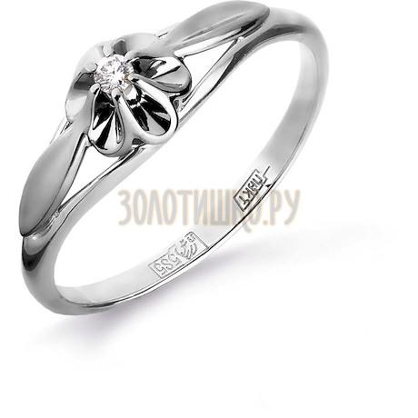 Кольцо с бриллиантом Т331016190