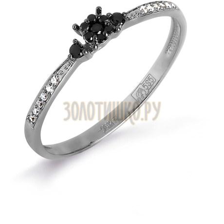 Кольцо с бриллиантами и Swarovski Zirconia Т331017140-01