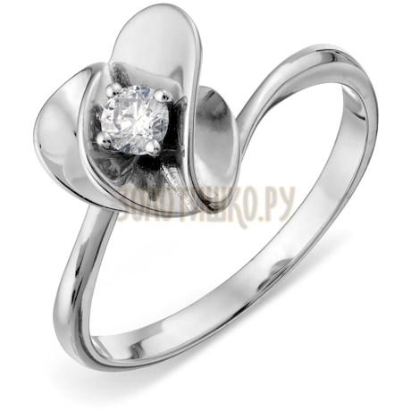 Кольцо с бриллиантом Т331018117