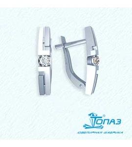 Серьги с бриллиантами Т331021703