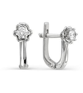 Серьги с бриллиантами Т331021814