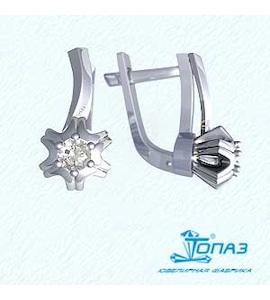 Серьги с бриллиантами Т331022005