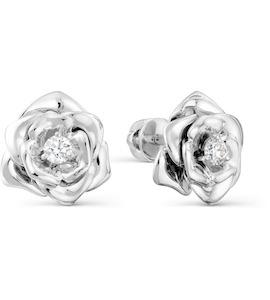 Серьги с бриллиантами Т331028223