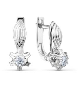 Серьги с бриллиантами Т331028586