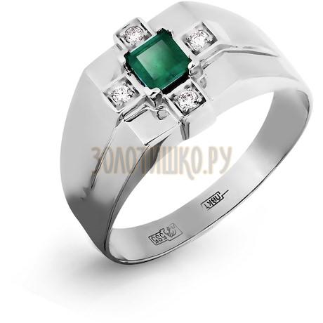 Кольцо с изумрудом и бриллиантами Т331045226_2