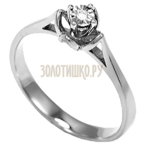 Кольцо с бриллиантом Т335611667