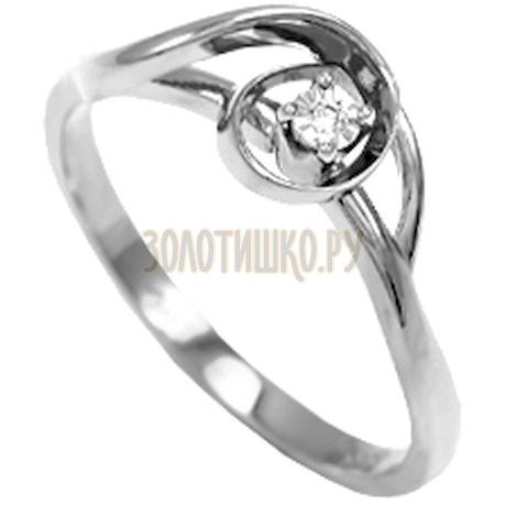 Кольцо с бриллиантом Т335611957